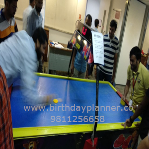 air hockey on rent in delhi