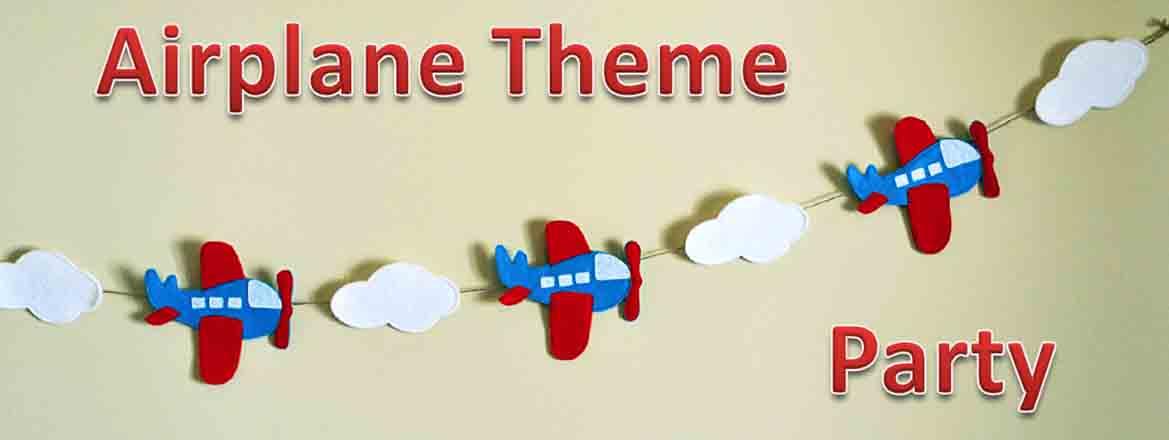 airplane theme party delhi