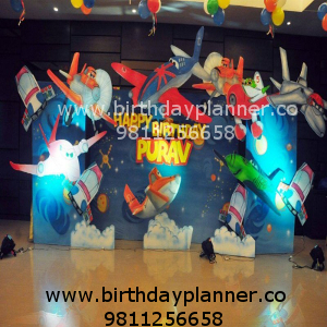Airplane theme party best organiser