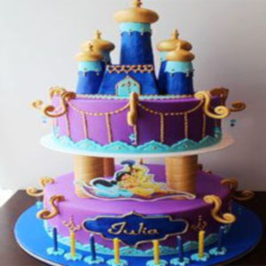 Aladdin jin cake for boys