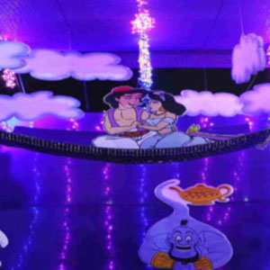 Best Aladdin jin theme party planner