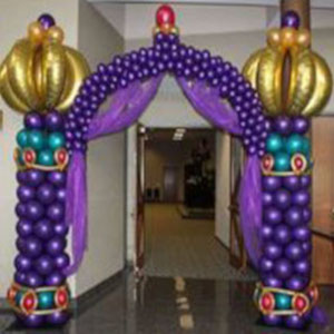 Aladdin jin gate for party decoration