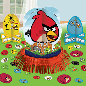 angry bird theme for birthday party