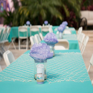 aqua theme party planner for party