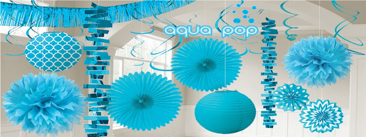 aqua pop theme party planner