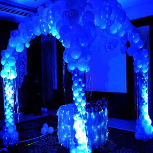 aqua pop theme party ideas