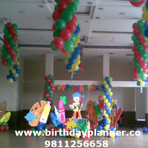 art attack theme party planner