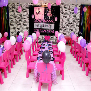 barbie theme party decoration idea
