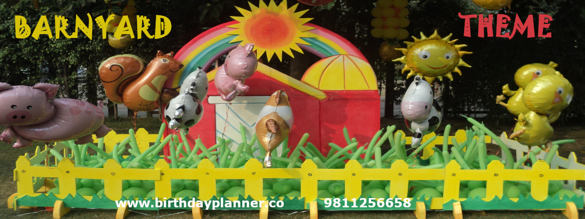 barnyard theme party planner delhi