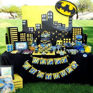 batman theme party ideas
