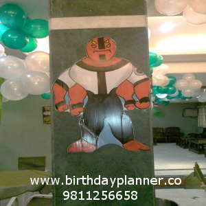 best boys theme party planner