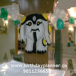 benten theme party decoration