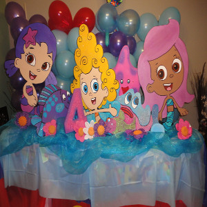bubble guppies theme party for birthday party