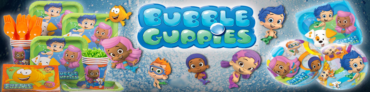 bubble guppies theme party planner