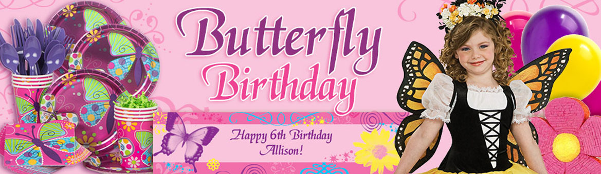 butterfly theme party planner
