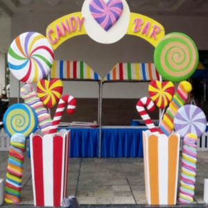 candyland theme best party decorator