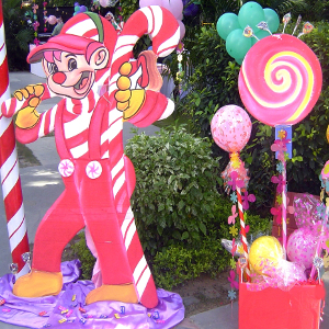 Candyland theme party best planner