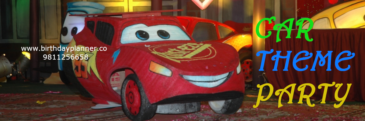 car theme party planner