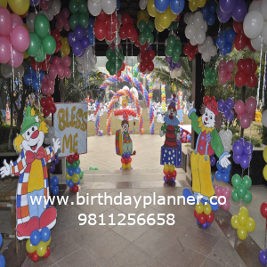 carnival theme party decor