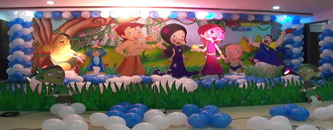 chhota bheem theme party planner