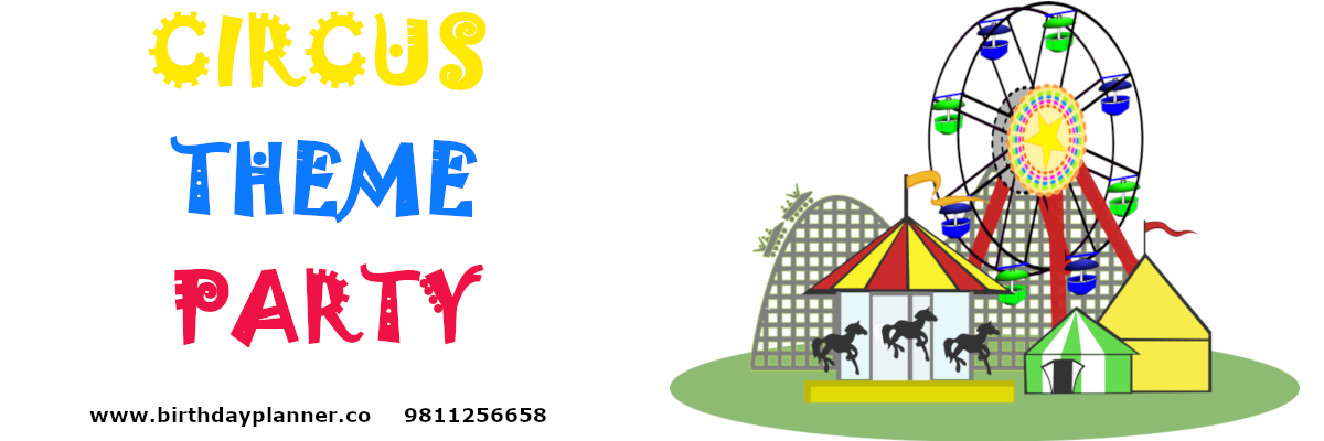 circus theme party planner