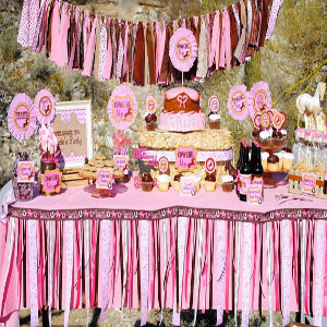 best cowgirl theme party ideas