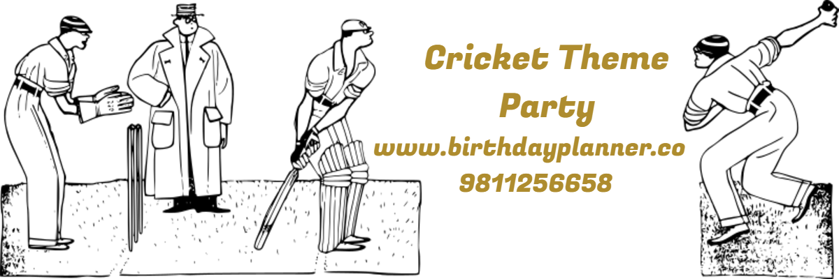 cricket theme party planner