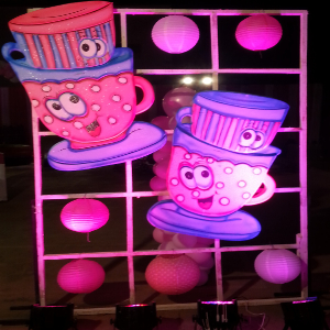 cup and saucer theme party planner