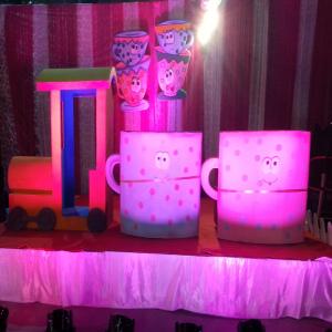 cup & saucer theme party delhi