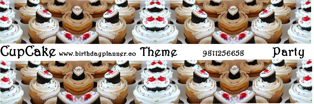 cupcake theme party planner