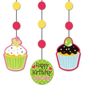 cupcake theme party decorator