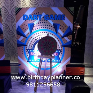 Dart game for corporate