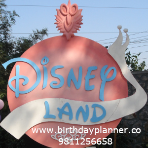 disneyland theme party decor