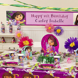 dora theme party for girls