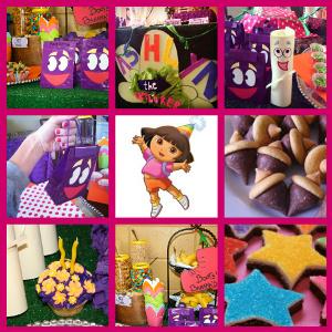 dora theme party idea for kids party