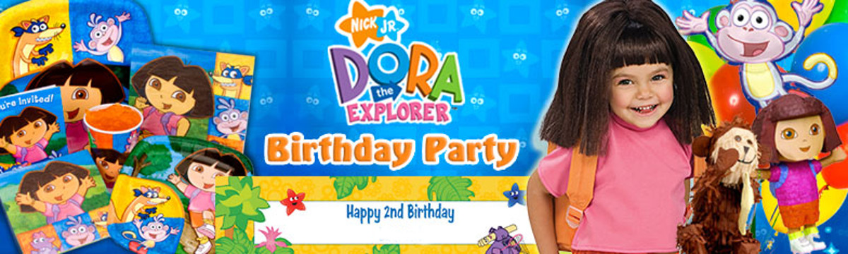 dora theme party planner