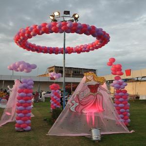 fashion theme party decoration in delhi