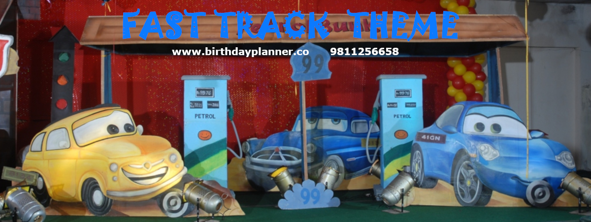 fast track theme party planner
