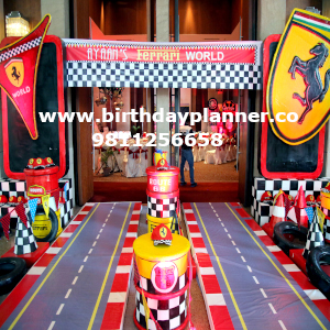 fast track theme party ideas