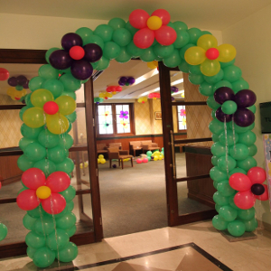 flower decoration for birthday party