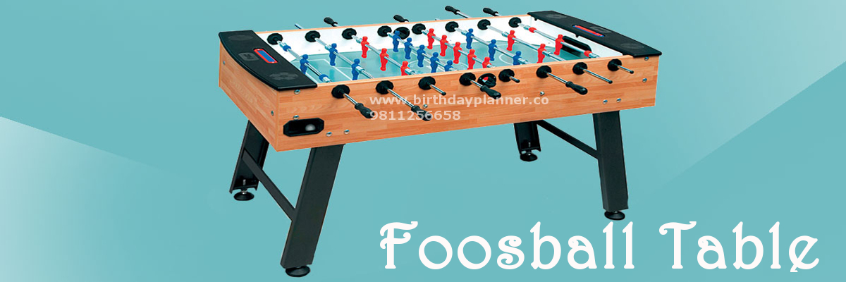foosball table on rent in delhi