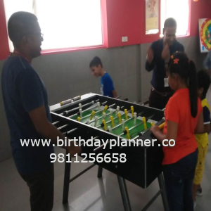 Foosball table game on rent
