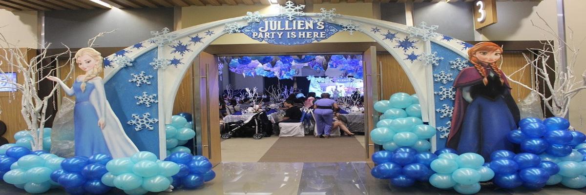 frozen theme party planner