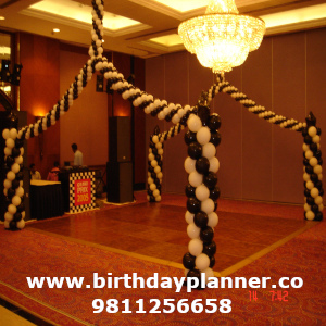 grand prix theme party decorator