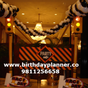grand prix theme party ideas