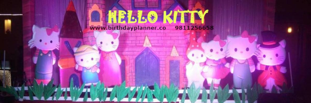 hello kitty theme party delhi