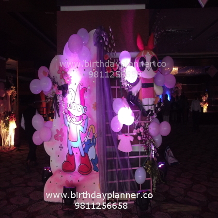 girls theme party planner