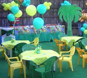 jungle theme decoration for party