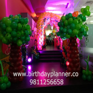 jungle theme for childrens party