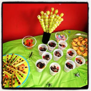 ladybug theme party decorator on rent in delhi